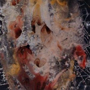 """""""Ритуален Бяг"""" Румянка Божкова Тематична Живопис Смесена Техника"""