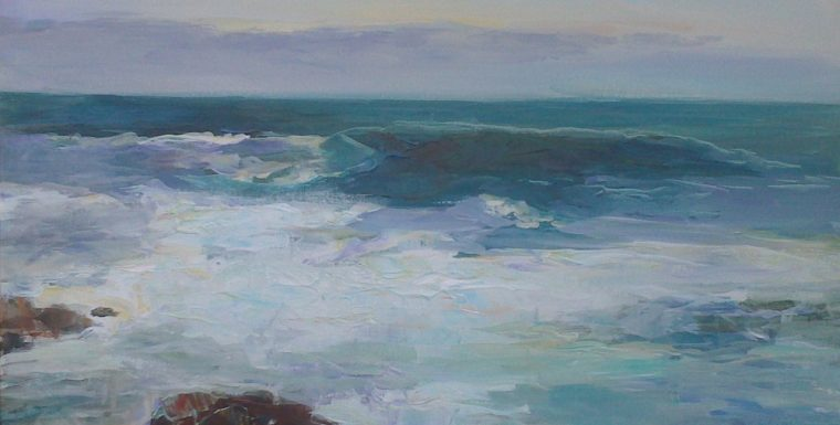 Картини с Морски Пейзажи Ангелина Недин