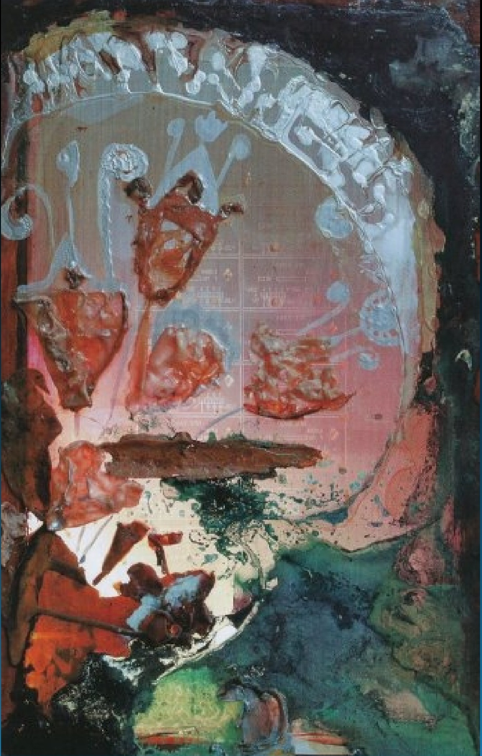 """Кристални Цветя "" Живопис Светлинен Панел Румянка Божкова"