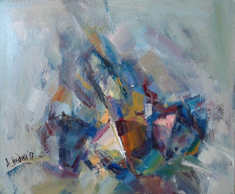 Angelina Nedin 2017 Impression -Painting