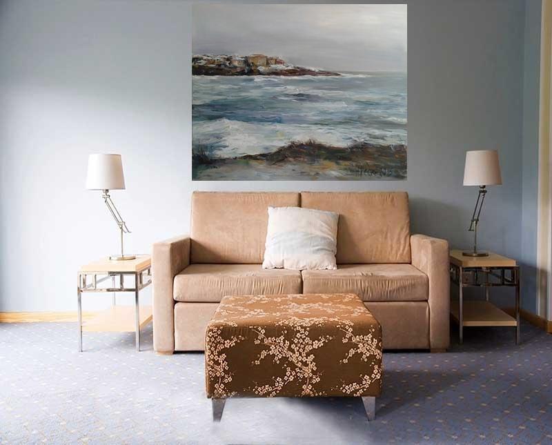 artgalleryonline.org-Angelina-Nedin-,Winter-in-Sozopol-Maritime-Painting, 100-120sm-2