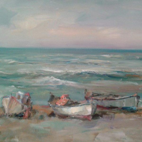 Sea Landscape Paintings Angelina Nedin
