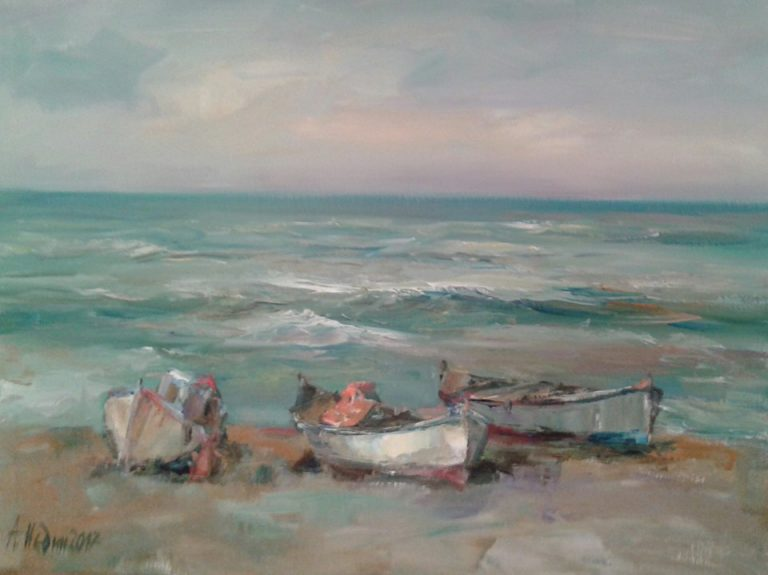 Sea Landscape Paintings Angelina Nedin