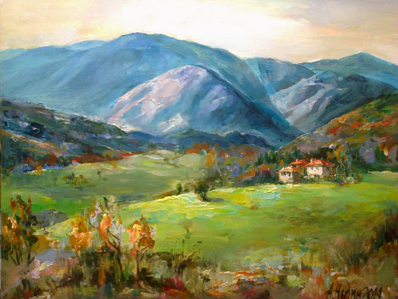 Angelina Nedin 2014 Landscape oil paints/canvas