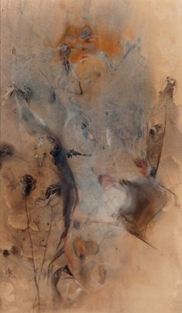 "Rumyanka Bozhkova ""Black Rose"" Nude Painting"