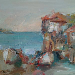 "Angelina Nedin ""Autumn in Sozopol"""