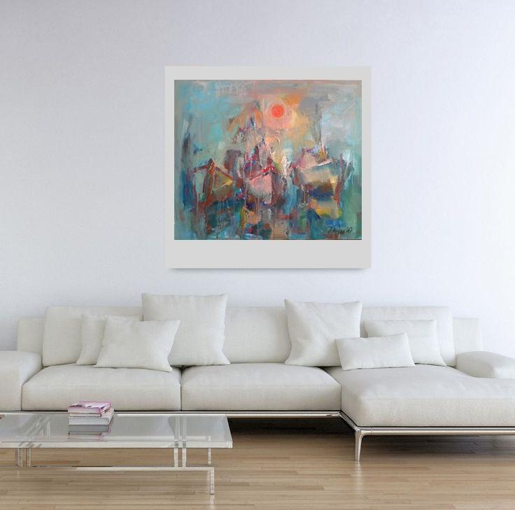 Angelina Nedin Impression -Oil painting