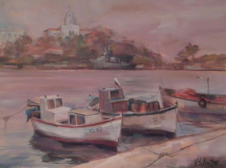 "Angelina Nedin 2017 ""Port of Sozopol"""