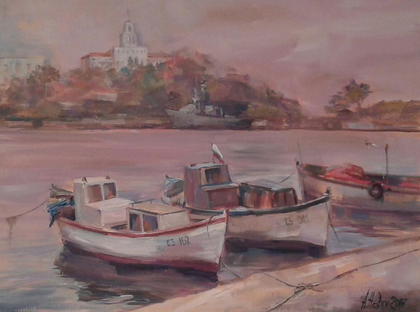 "Angelina Nedin 2017 ""Port of Sozopol"""