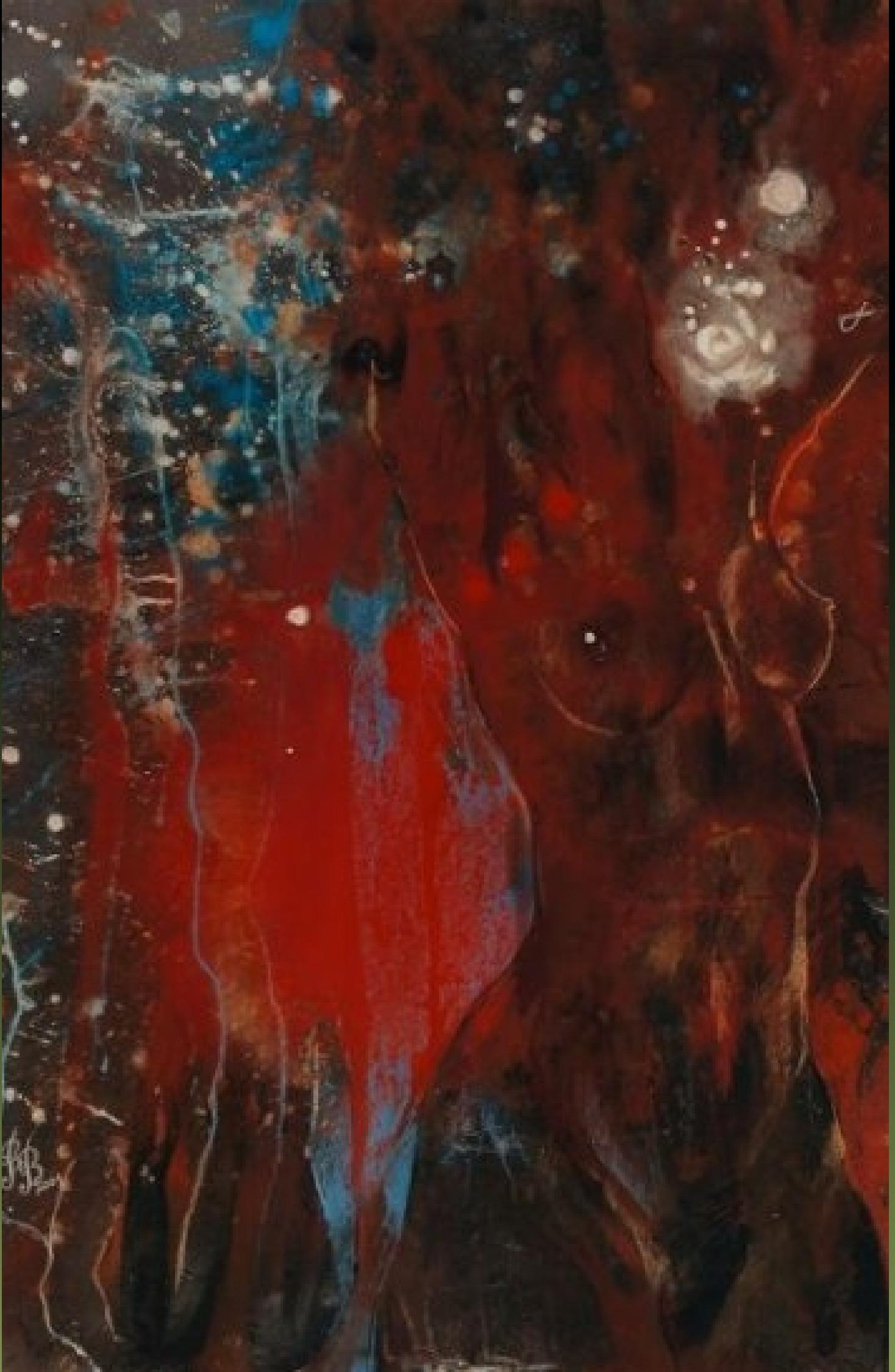 "Rumyanka Bozhkova ""Carmen"" Nude Painting"