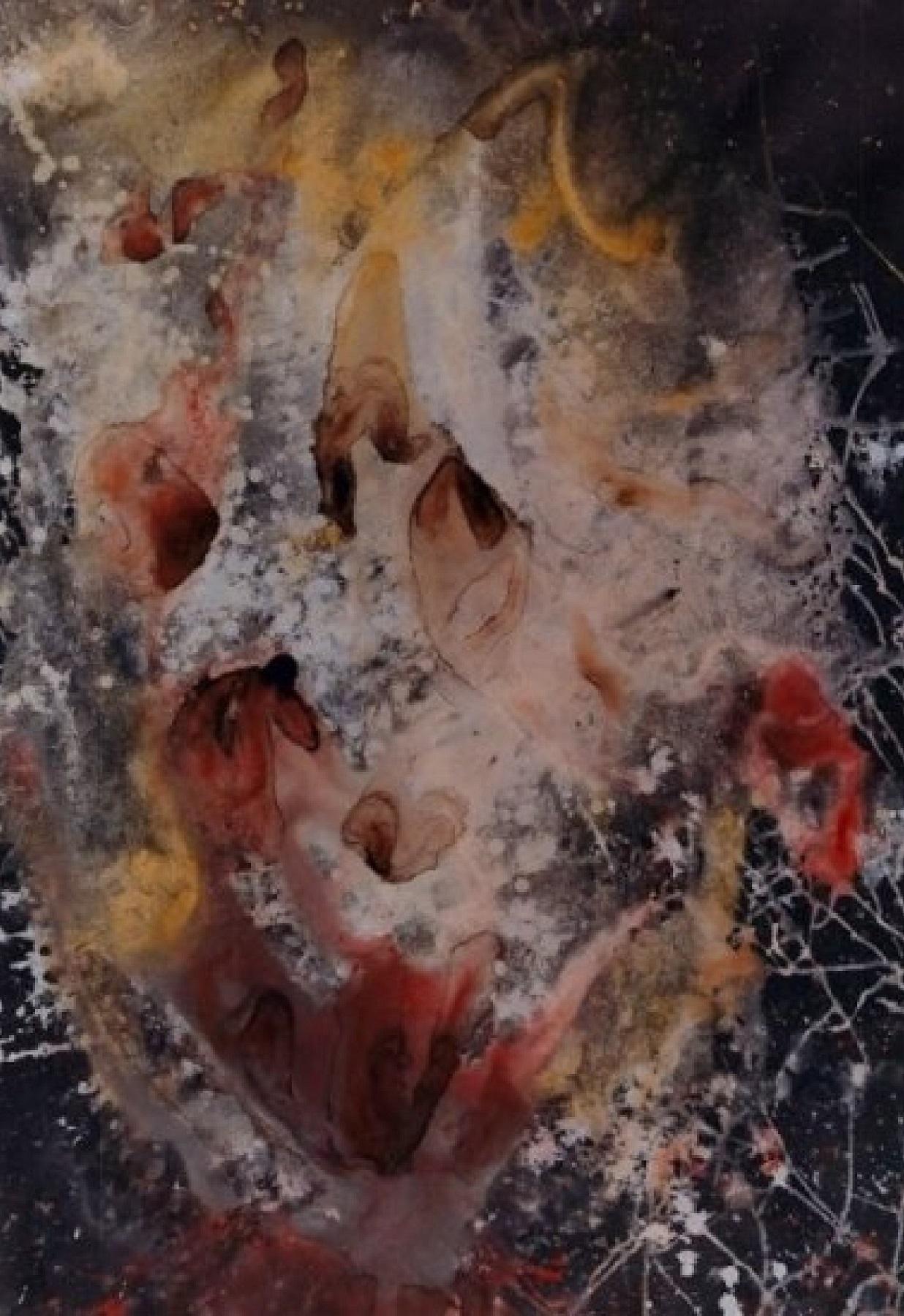 """""""Ritual Run"""" Rumyanka Bozhkova Painting"""