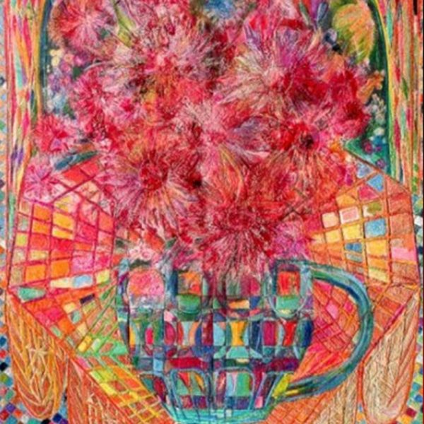 """""""Alla Franga"""" Rumyanka Bozhkova Painting Naturmort"""
