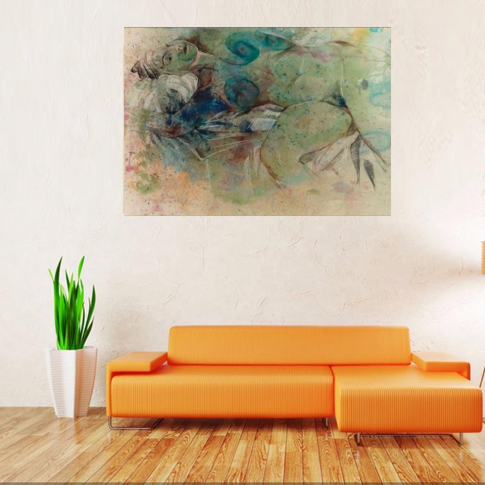 """""""Dream"""" Nude Painting Rumyanka Bozhkova"""