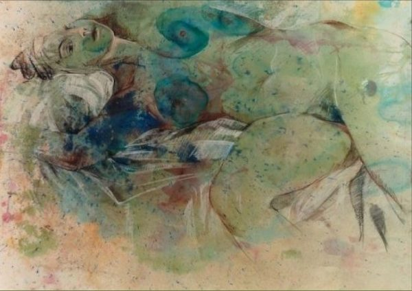 Dream Nude Painting Rumyanka Bozhkova