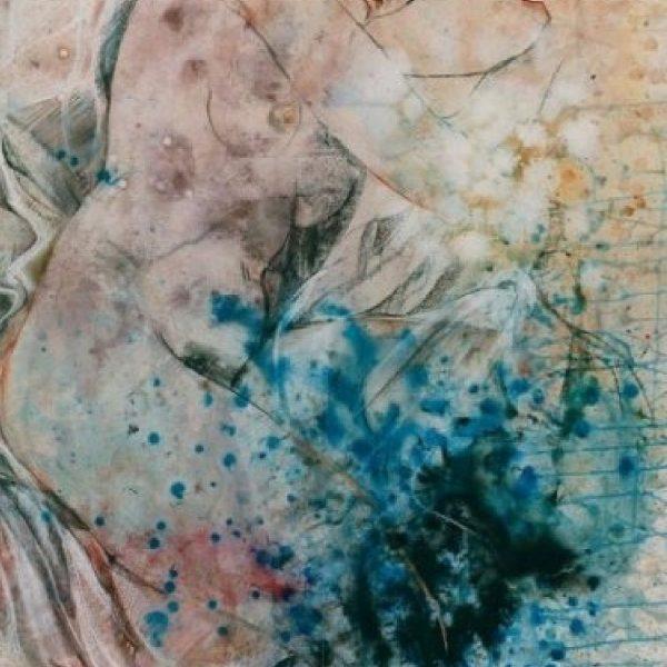 """Rumyanka Bozhkova """"The White Veil"""" Nude Painting"""