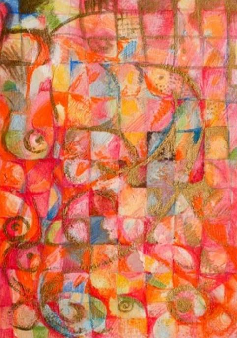 """""""Firebird"""" Rumyanka Bozhkova Painting"""