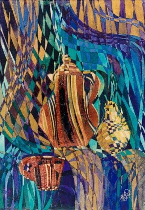 """Naturmort with Pot"" Rumyanka Bozhkova Painting"