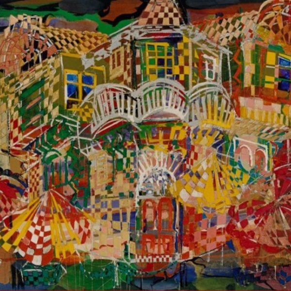 """Old House"" Rumyanka Bozhkova Thematic Painting Landscape"