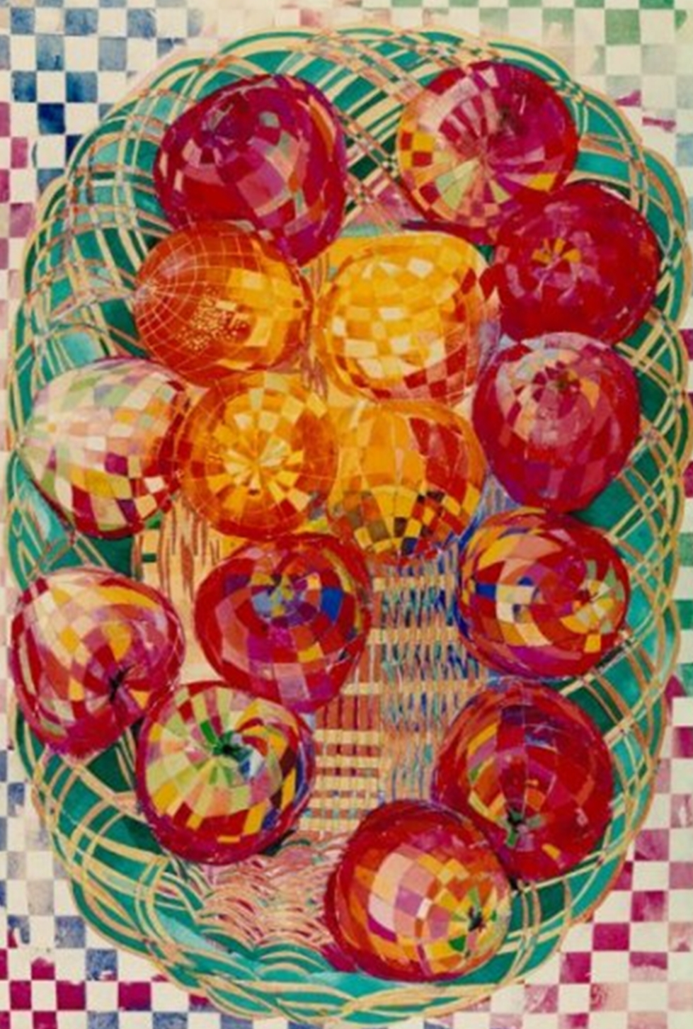 """Red Apples"" Rumyanka Bozhkova Naturmort Painting"