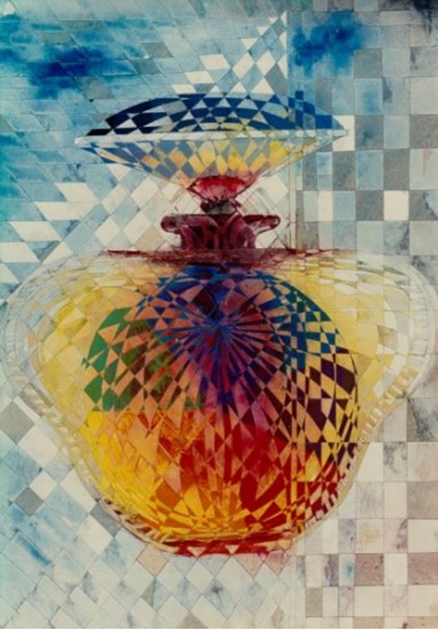 """""""Scent"""" Naturmort Painting Rumyanka Bozhkova"""