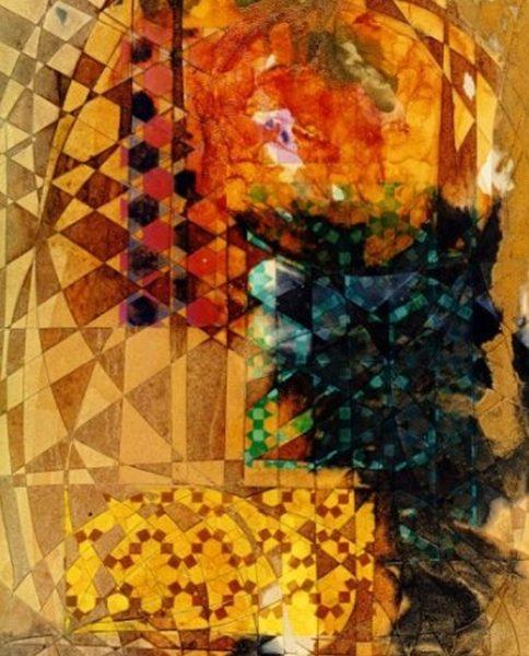 """""""Silent Words"""" Rumyanka Bozhkova Thematic Painting"""