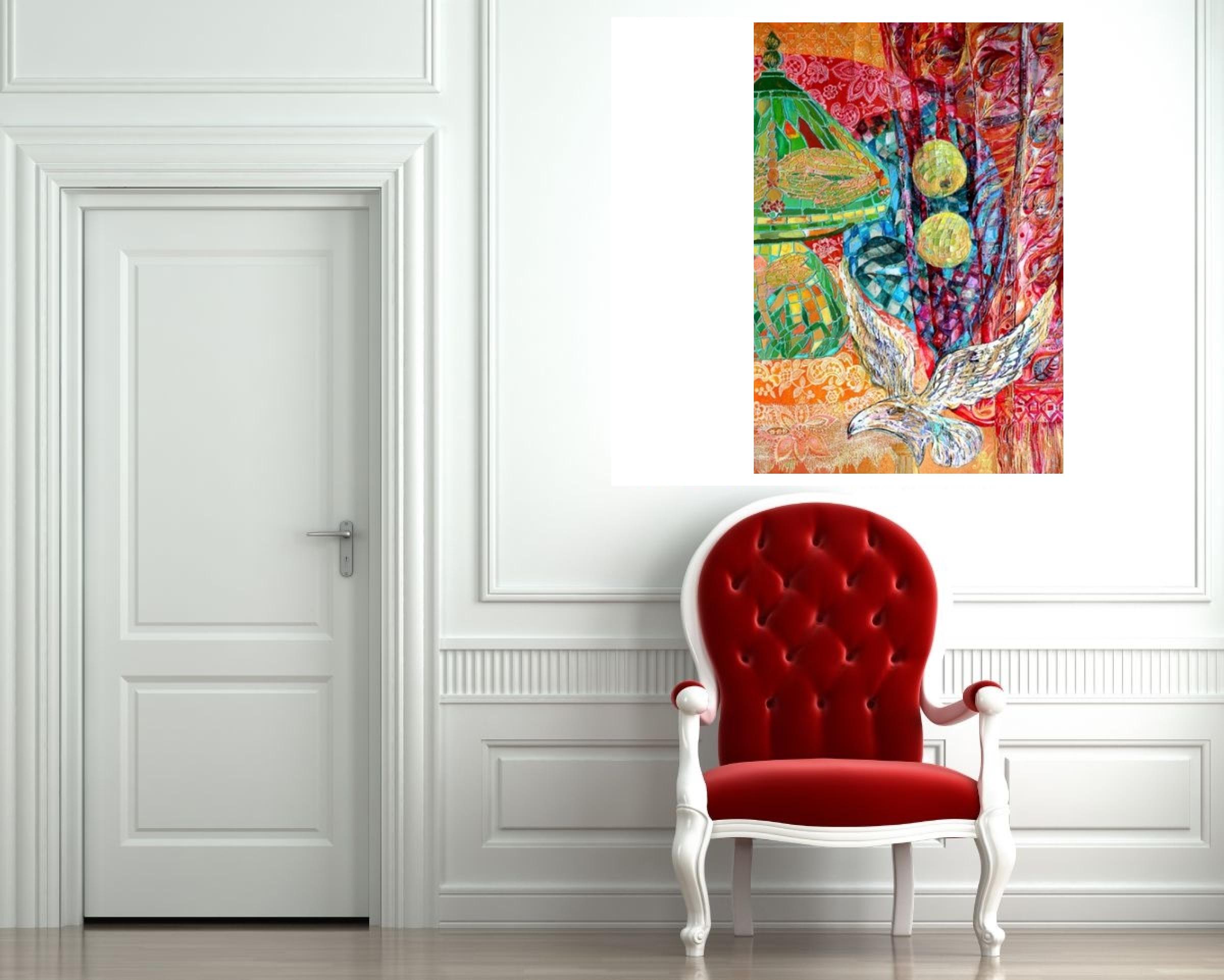 """Tiffany Lamp"" Rumyanka Bozhkova Thematic Painting"
