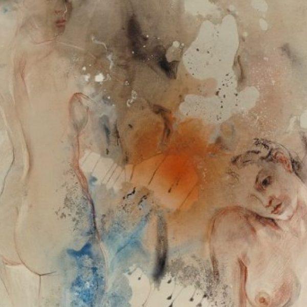 """""""Two"""" Rumyanka Bozhkova Nude Painting"""