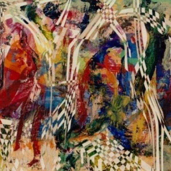 """""""Windy and Rainy """" Rumyanka Bozhkova Thematic Painting"""