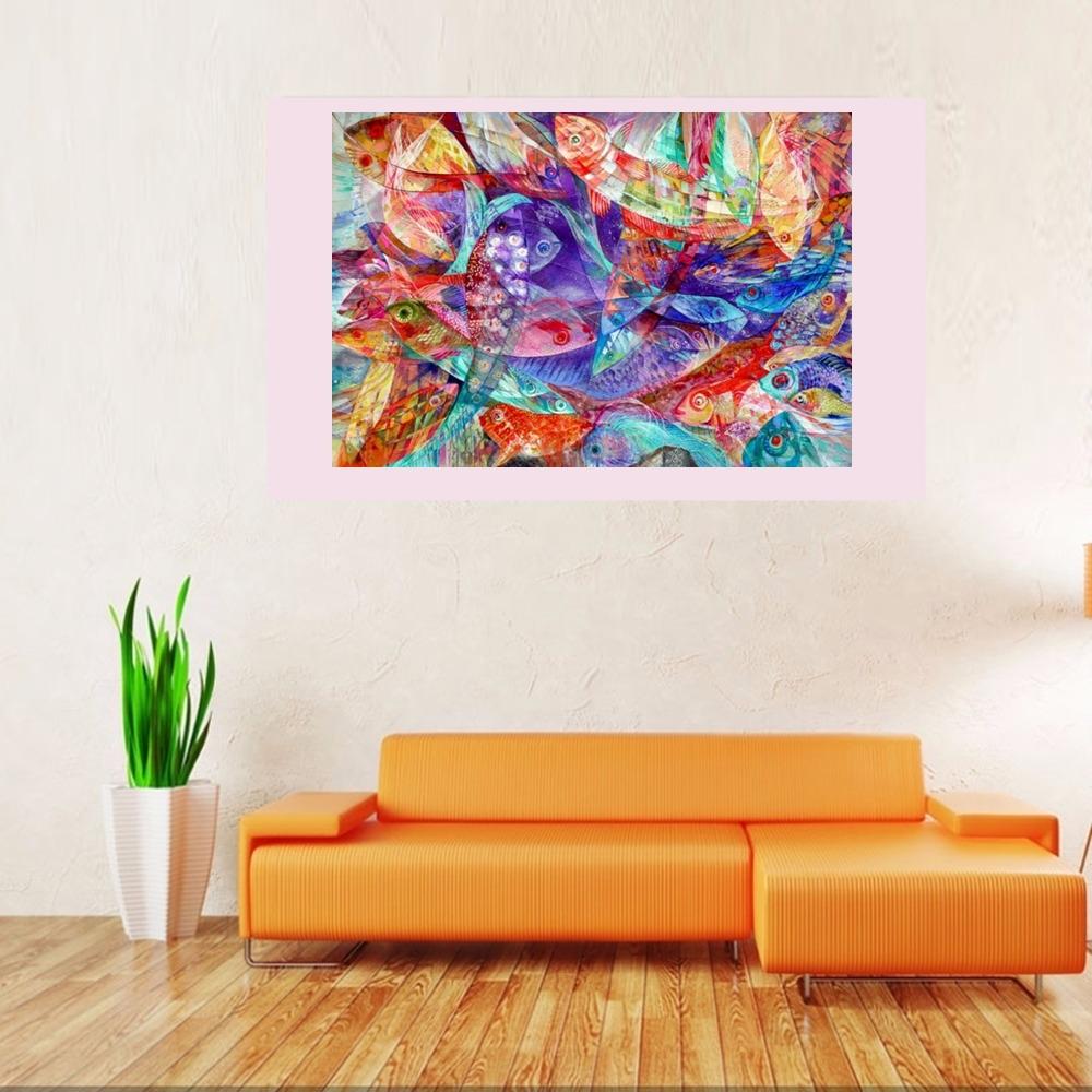 """Big FIsh"" Rumyanka Bozhkova Thematic Painting"
