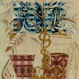 """""""Ficus Benjamin"""" Rumyanka Bozhkova Naturemort Painting"""