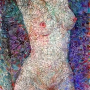 """Marble Body"" Rumyanka Bozhkova Nude Painting"