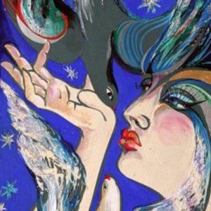 """Temptation"" Rumyanka Bozhkova Painting"