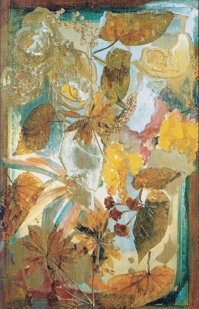 """Begonias"" Light Panel Painting Rumyanka Bozhkova"