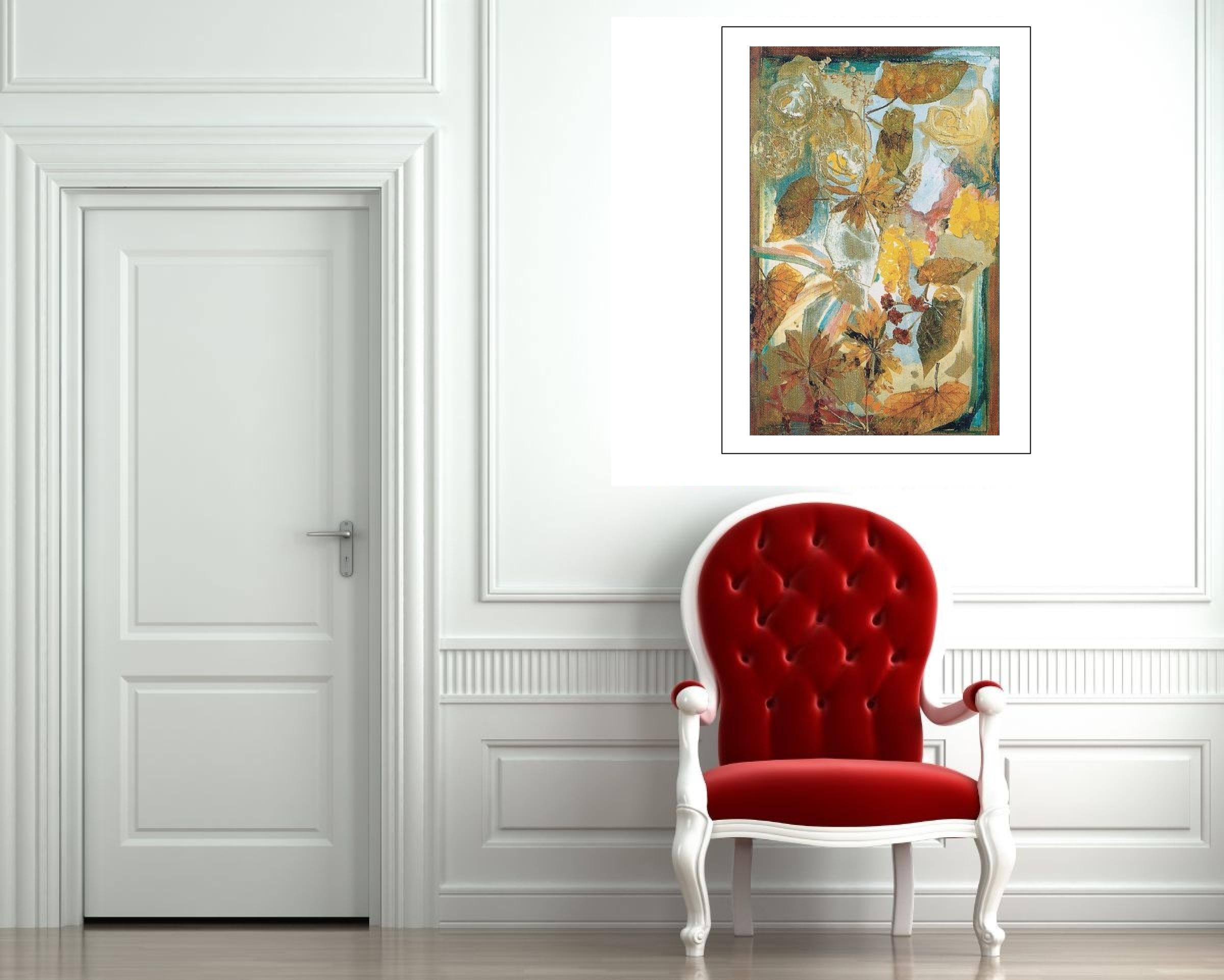 """Begonias"" Light Panel Painting Rumyanka Bozhkova"