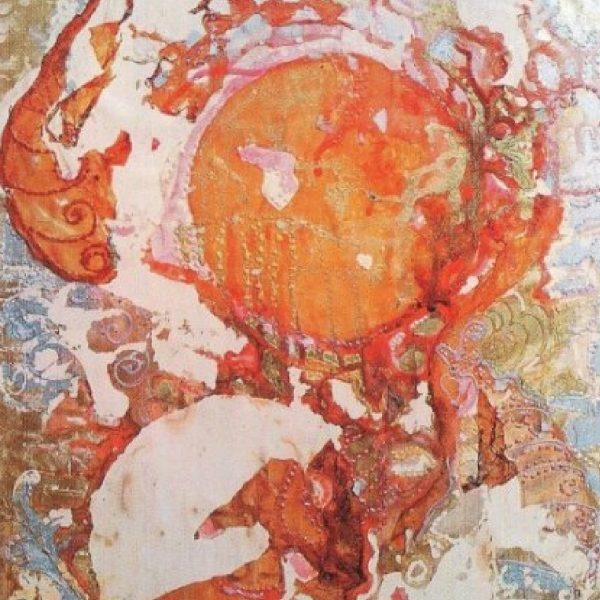 """Tea Ceremony"" Light Panel Painting Rumyanka Bozhkova"