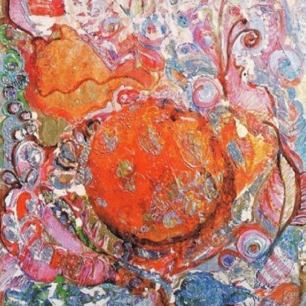 """Tea Ceremony"" Painting Light Panel Rumyanka Bozhkova"