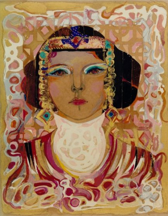 """Female Portrait"" Painting Rumyanka Bozhkova"