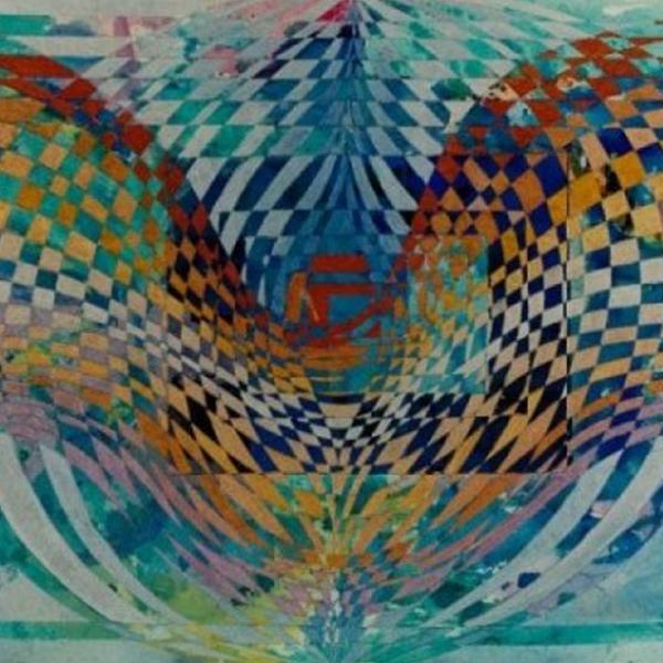 """Wings""Abstract Painting Rumyanka Bozhkova"