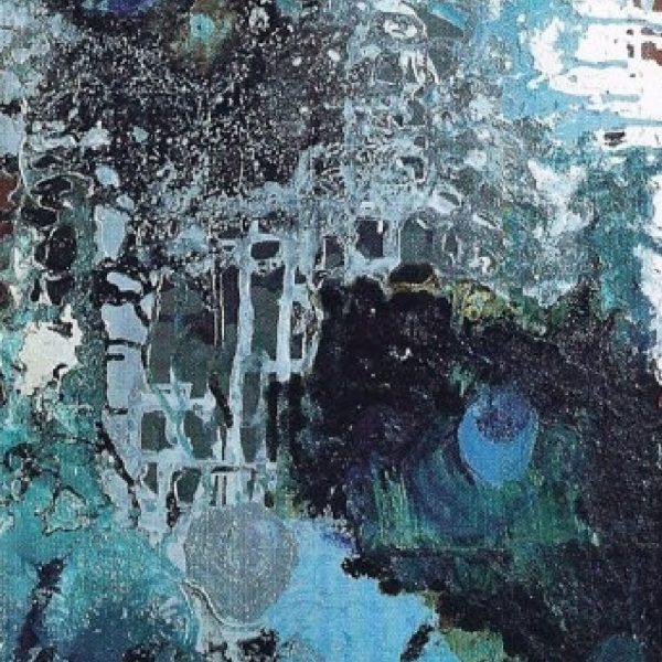 """Marine Presence"" Painting Light Panel Rumyanka Bozhkova"