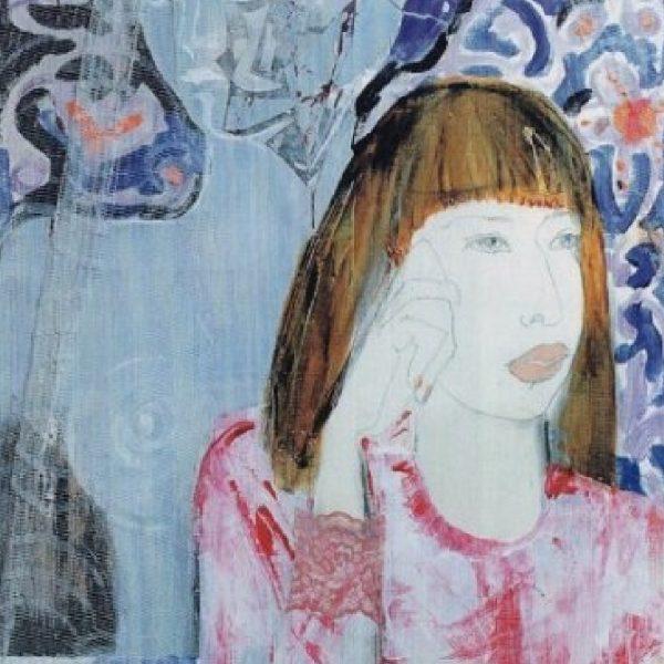 """""""Maya"""" Painting Light Panel Rumyanka Bozhkova"""
