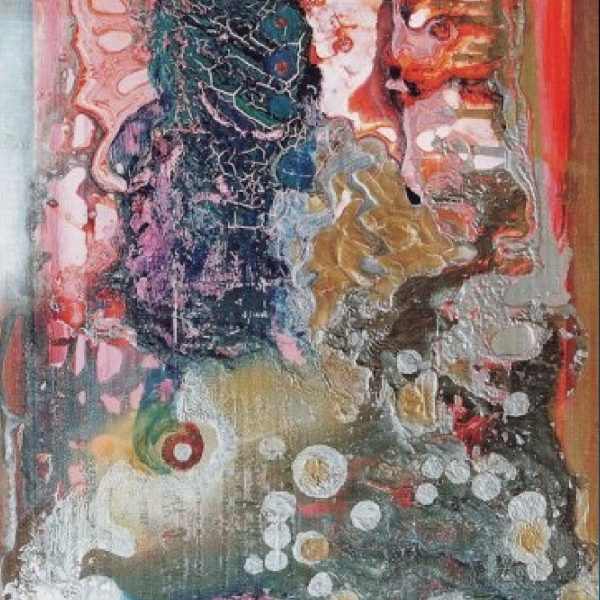"""Shadow of a Beloved Bird"" Painting Light Panel Rumyanka Bozhkova"