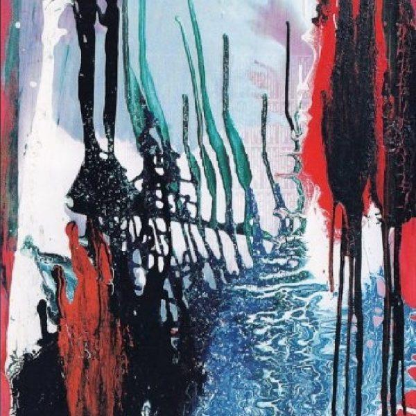 """Silhouettes"" Painting Light Panel Rumyanka Bozhkova"