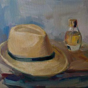 """Naturmort"" Painting Angelina Nedin 2020"
