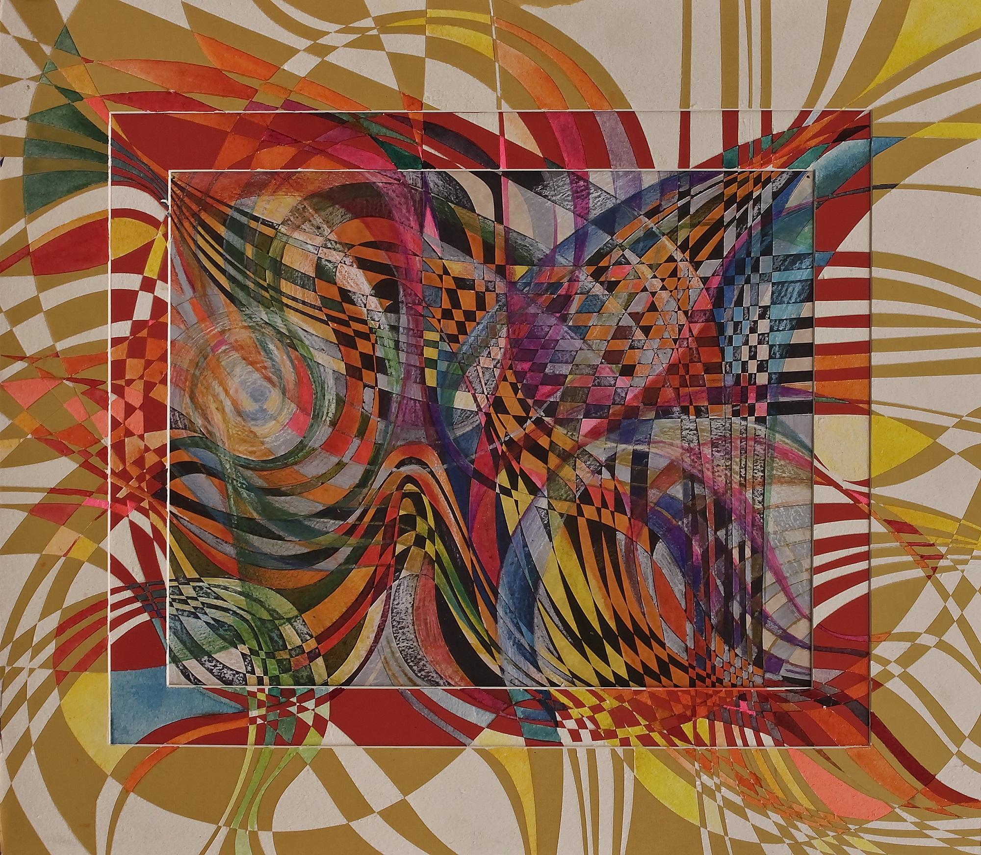 """Butterflies"" Rumyanka Bozhkova Drawing Engraving on Multilayer Cardboard"