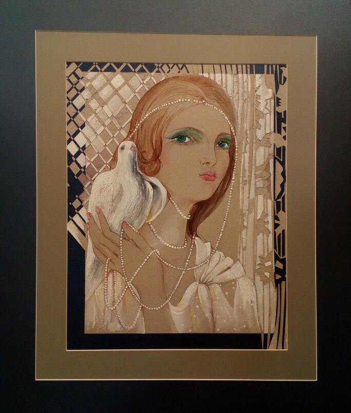 """""""Perl Girl""""Rumyanka Bozhkova Thematic Painting"""