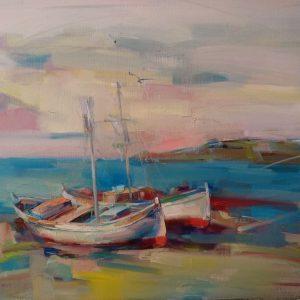 """Impression"" Painting by Angelina Nedin 2021"