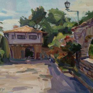 """Landscape"" Painting by Angelina Nedin 2021"