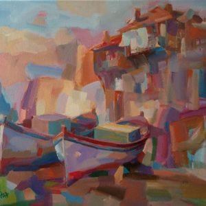 """Mood"" Painting by Angelina Nedin 2021"